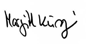 Unterschrift Margrith Kuenzi